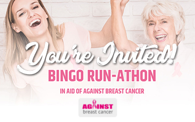 Join a Bingo Fundraising Special to Raise Vital Funds in Aid of Against Breast Cancer