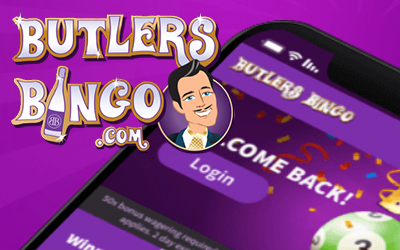 Butlers Bingo Has Gone and Had a Makeover! Check Out What's New!